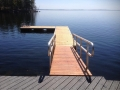 ACCESS RAMP W FLOATING DOCK
