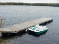Wood float docks