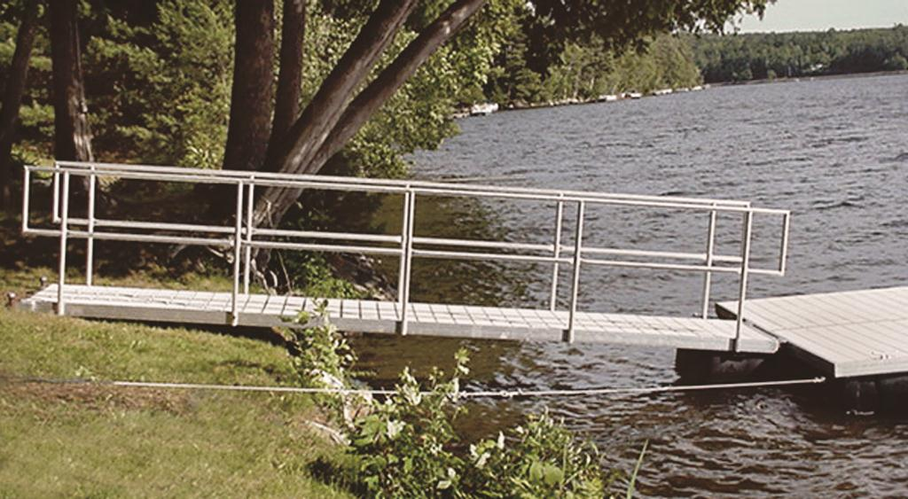 gangway and access ramp photos   sebago dock amp lift