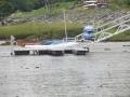 Gangway w floating dock (2)